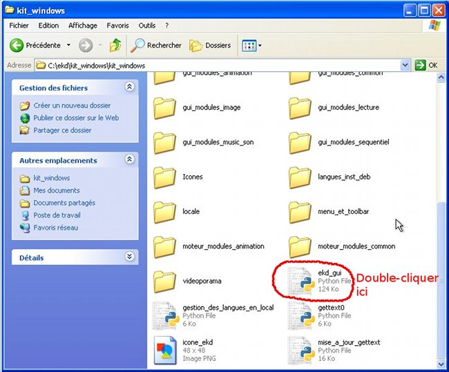 Nouvelle version ekd le blog for Fenetre dos windows 7